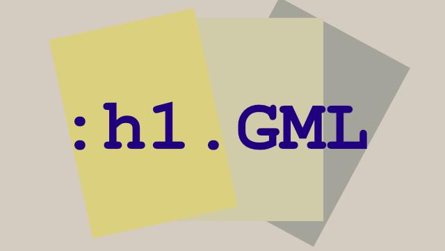 GML Verallgemeinernde Auszeichnungssprache
