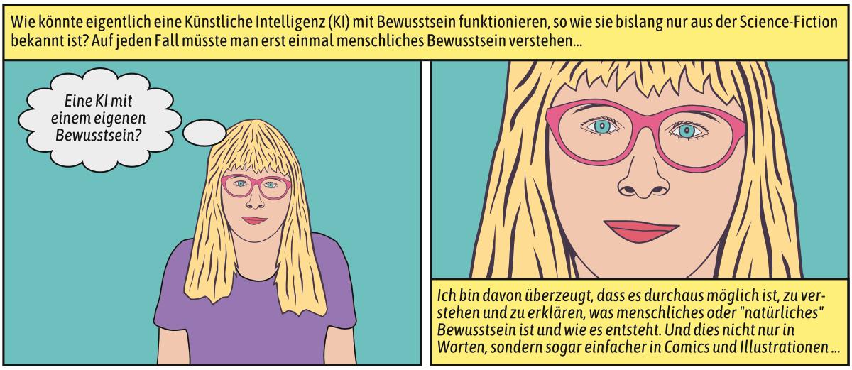 Anita Neuron - Autorin Künstlerin Comicfigur