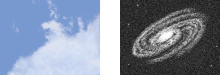 fraktale Wolke Galaxie